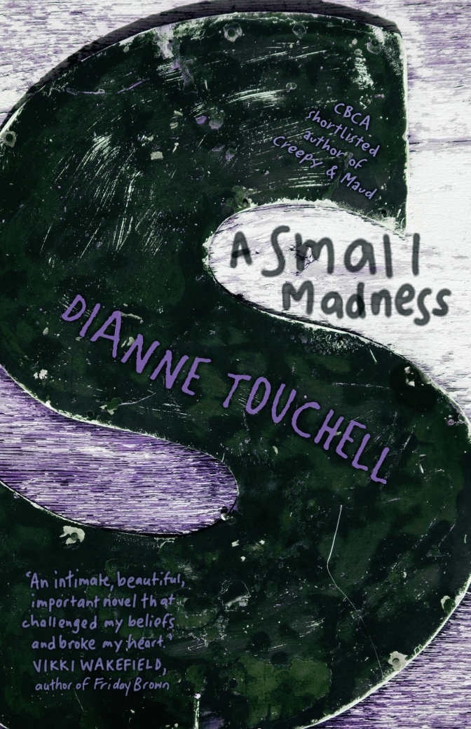A Small Madness   FRONT COVER (10 September 2014)